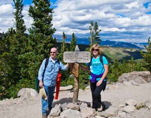 Phil and Marcella at Rocky Mtn Nat'l Park