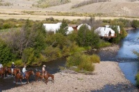 Ride across the Creek