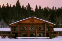 Main Lodge at Christmas