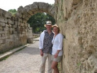 Phil and Marcella in Greece